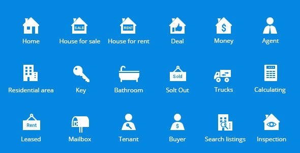 Introducing Property Amp Real Estate Vector Icons