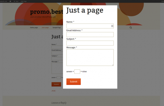 wordpress captcha plugin screenshot 6