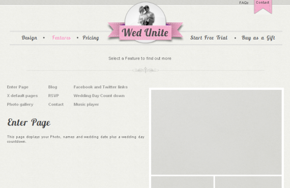 personal wedding website screenshot 14