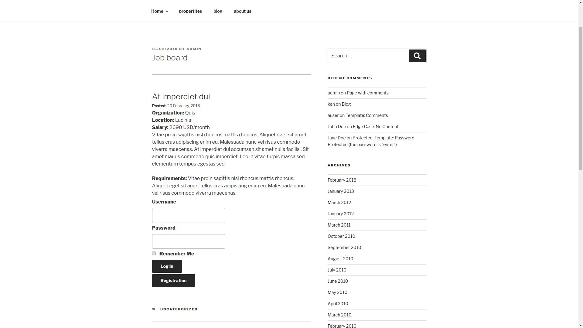 job board screenshot 2