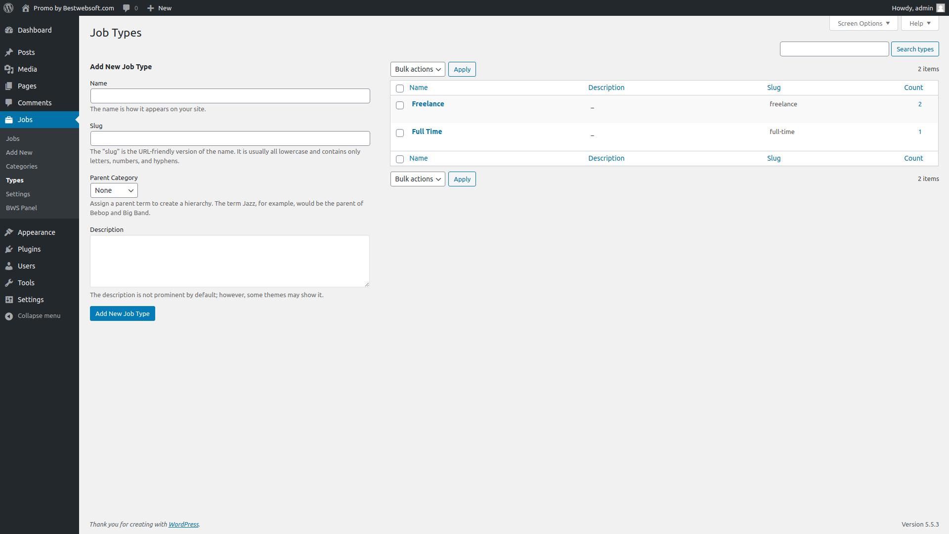 job board screenshot 7