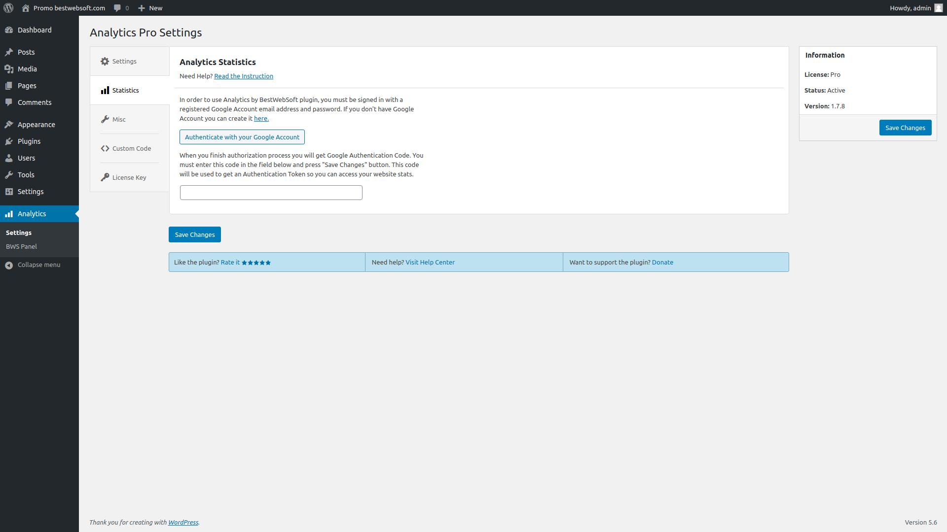 analytics screenshot 4