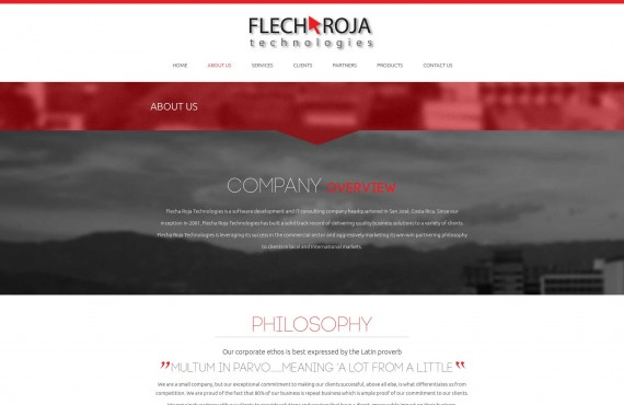website revamp (bootstrap 3) screenshot 1