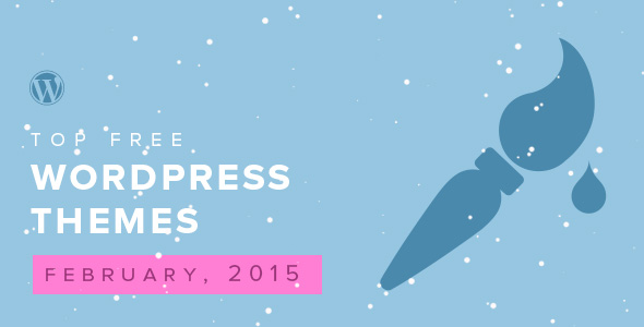 top-free-wordpress-themes-of-the-month-february-2015