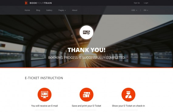book your train – online booking psd template screenshot 19