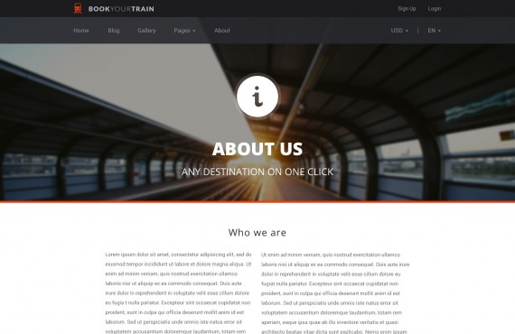 book your train – online booking psd template screenshot 8