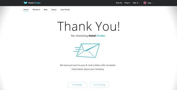 hotel finder – online booking psd template screenshot 23
