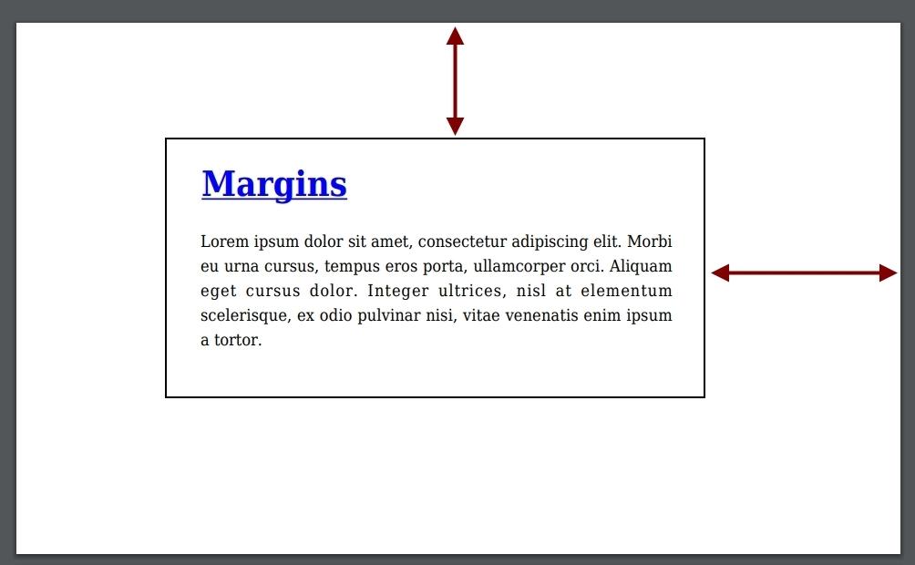 pdf margins