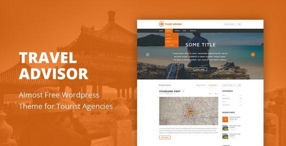 travel advisor wordpress theme