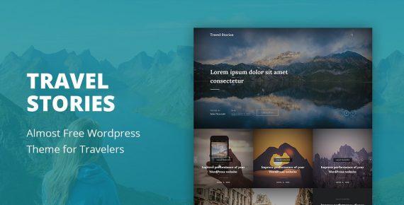travel stories wordpress theme