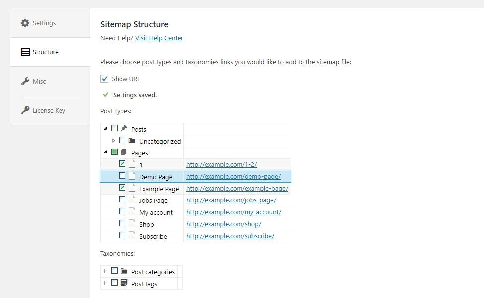 Just Deselect The Necessary Post Type You Would Like To Exclude From Your Sitemap File And Enjoy Further Website Developing
