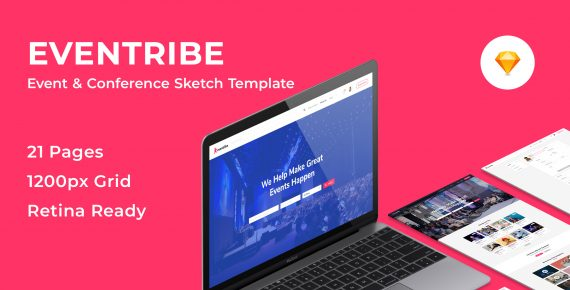 eventribe – event & conference sketch template screenshot 1