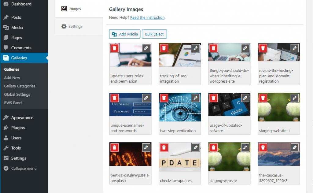 gallery settings 1