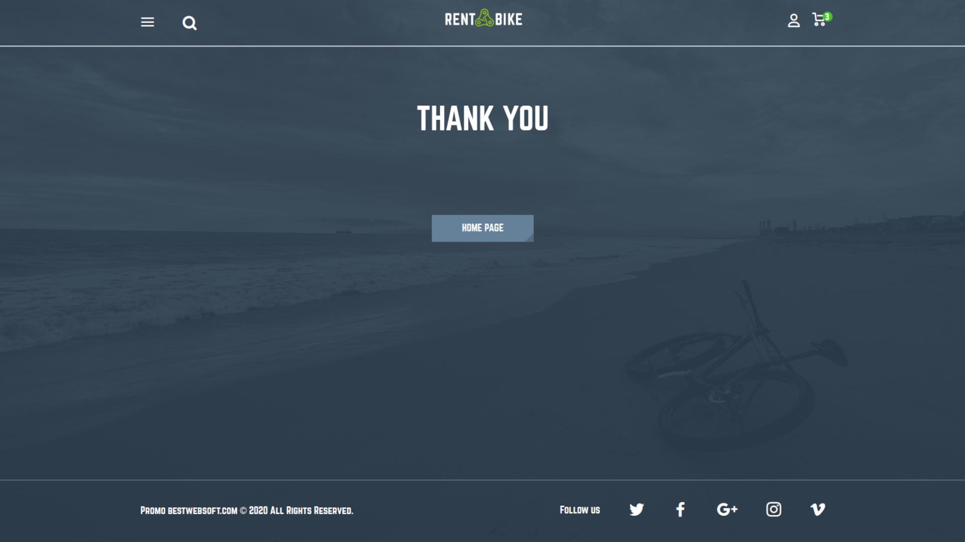 bike rental screenshot 2